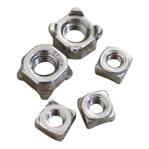AOZ/奥展 四方焊接螺母 304 本色 M6 DIN928 1包