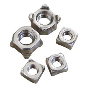 AOZ/奥展 四方焊接螺母 304 本色 M10 DIN928 1包