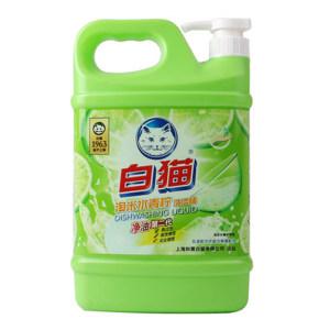 BAIMAO/白猫 淘米水青柠洗洁精 6901894121144 1.35kg 1瓶