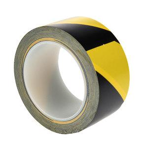 3M PVC地面警示胶带 5702 黄黑 60mm*33m 1卷