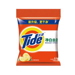 TIDE/汰渍 净白去渍洗衣粉 6903148054758 5kg 1袋