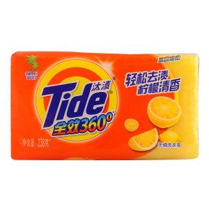 TIDE/汰渍 全效360度三重功效柠檬清新洗衣皂 6903148070840 238g 1块