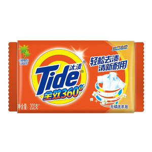 TIDE/汰渍 全效360度三重功效洗衣皂 6903148157008 202g 1块