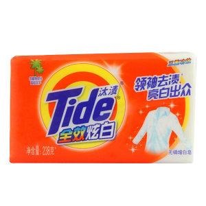 TIDE/汰渍 全效炫白三重功效增白皂 6903148070949 238g 1块