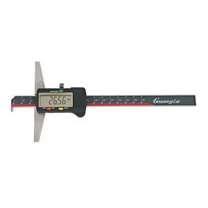 GUANGLU/广陆 单钩头数显深度尺 123-102 0-200mm 0.01mm 不代为第三方检测 1把