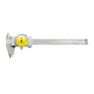 GUANGLU/广陆 闭式带表卡尺 171-122A 0-150mm 0.01mm 不代为第三方检测 1把