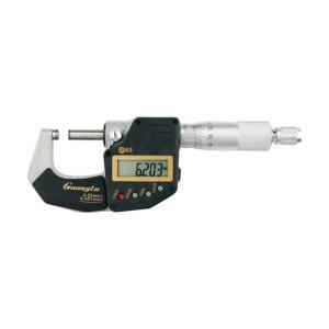GUANGLU/广陆 IP65防水数显千分尺 211-701 0-25mm ±0.002mm 不代为第三方检测 1把