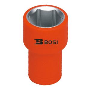 """BOSI/波斯 1/4""""VDE绝缘公制套筒 BS600146 13mm 1只"""