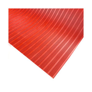 ECOBOOTHS/爱柯部落 耐信耐高压绝缘橡胶垫 5001 红色 1*10m 5mm厚 1片