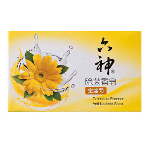 LIUSHEN/六神 除菌香皂(金盏菊) 6901294171800 90g 1块