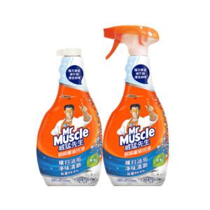 MRMUSCLE/威猛先生 厨房重油污净双包装 6901586103199 正装500g+替换装500g 1组