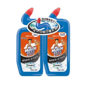 MRMUSCLE/威猛先生 强效洁厕液双包装 6901586104554 500g×2瓶 1组