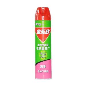 QWD/全无敌 杀虫气雾剂 6911348210010 600mL 流通清香型 1瓶