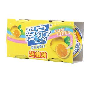ALL JOY/爱家 固体清香剂超值装 6911348430692 柠檬 70g×2只 1套