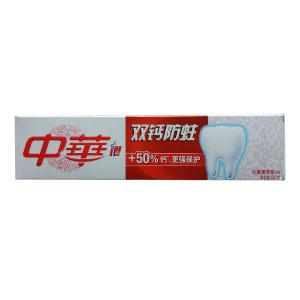 ZHONGHUA/中华 双钙防蛀沁爽薄荷牙膏 6902088605532 90g 1支