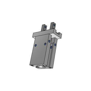 SMC MHZL2系列平行开闭型长行程气爪 MHZL2-16D 缸径16mm 2爪 1个