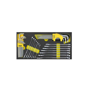 STANLEY/史丹利 32件两用扳手及内六角扳手组套 90-035-23 1套
