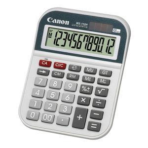 CANON/佳能 商务办公计算器 WS-112H 148×109×30.5mm 1台