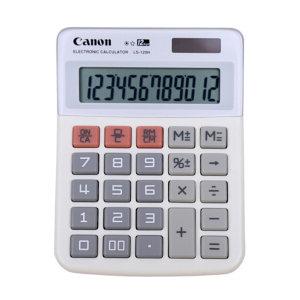 CANON/佳能 商务办公计算器 LS-120H 原色 100×130×25mm 1台