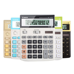 CANON/佳能 商务办公计算器 WS-1200H 混色 201.5×150×25mm 1台