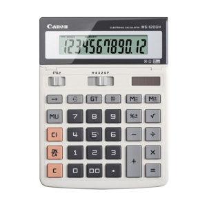CANON/佳能 商务办公计算器 WS-1200H 原色 201.5×150×25mm 1台