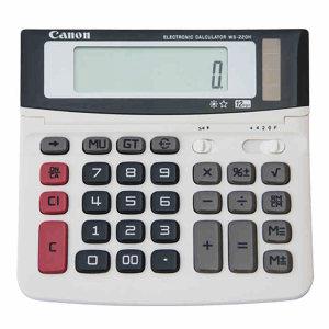 CANON/佳能 商务办公计算器 WS-220H 141×145.5×28mm 1台