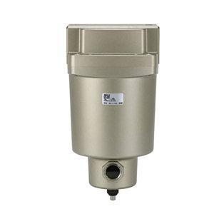 SMC AMH系列带前置过滤器的微雾分离器 AMH350C-04BD 过滤精度0.01μm 接口Rc1/2 自动排水式 附支架 1个
