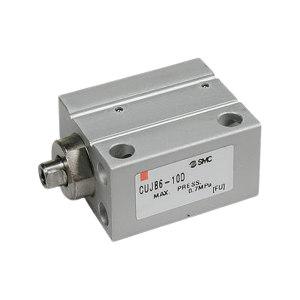 SMC CUJ系列小型自由安装气缸 CDUJB6-10DM 缸径6mm 行程10mm 附磁石 1个