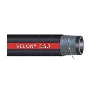 """VELON DSO排吸油管 A0-012-1000-10M-BLK 1""""×10m 壁厚6mm 黑色 合成橡胶+钢丝 20.7bar 1卷"""