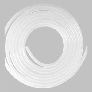 VELON 单层硅胶管 A0-037-0355-10M-CLE 内径9mm 壁厚4mm 长10m 半透明 硅胶 1卷