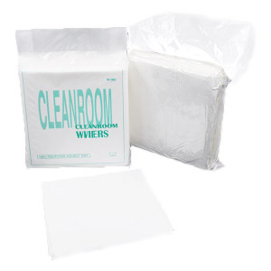 """CLEANROOM/净雅 千级聚脂纤维无尘布 WIP-1019SLE(1009LE共用包装) 8.5""""*8.5"""" 115g±3g 150张/包 1包"""
