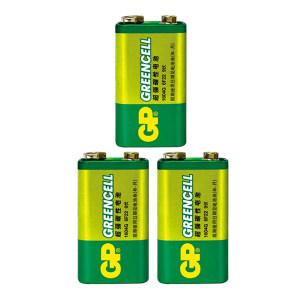 GP/超霸 碳性电池 1604G 6F22 9V 单粒装 1包