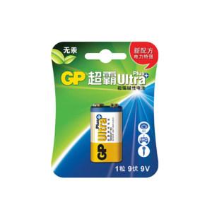 GP/超霸 9V碱性电池 1604AUP 1粒装 1包
