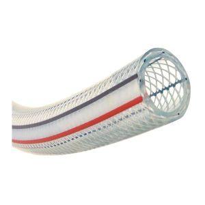 TOYOX/东洋克斯 TOYORON HOSE PVC耐压软管 TR-4 内径4mm 长100m 透明蓝 PVC 0~10bar 1卷