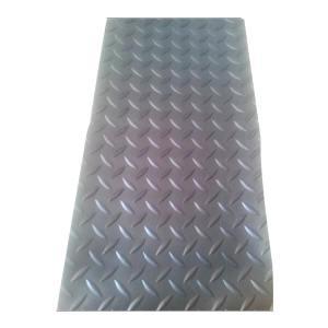 JNDL/金能电力 柳叶纹绝缘橡胶板 JN-JDL 黑色 厚3mm 宽1m 测试电压5kV 1卷