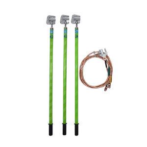 JNDL/金能电力 35kv接地线组 1.5米棒组+25m㎡软铜线(3*1.5米+15米)+地丁 JN-JDXZ-3535 1套