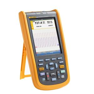 FLUKE/福禄克 工业用手持式示波器 FLUKE-123B/CN 简化测试,谐波测量,综合记录模式轻松诊断间歇性故障 1台