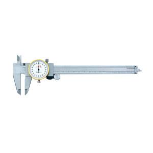 STWC/上工 不锈钢带表卡尺 AB0240152 0-150×0.02mm 1把