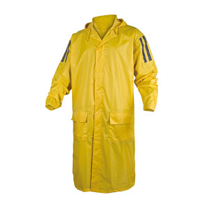 DELTA/代尔塔 连体式聚酯纤维雨衣 407007 M 黄色(JA) 1件