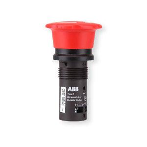 ABB CE系列急停按钮 CE4T-10R-11 安装直径22mm 红色 1个
