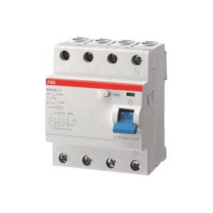 ABB F200系列剩余电流保护开关 F204 AC-40/0.03 10071588 1个
