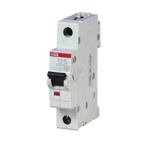 ABB S200系列微型断路器 S201-B6 B脱扣 额定电流6A 1个