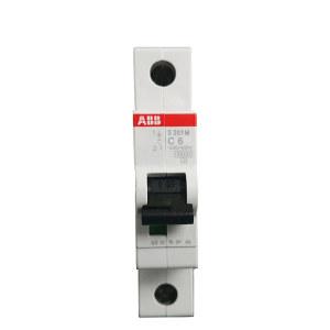 ABB S200系列微型断路器 S201M-D40 D脱扣 额定电流40A 1个