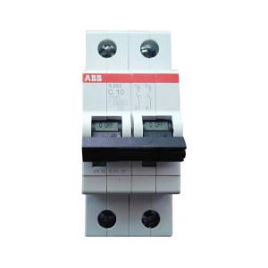 ABB S200系列微型断路器 S202-C4 C脱扣 额定电流4A 1个