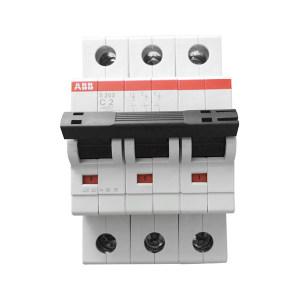 ABB S200系列微型断路器 S203-D32 D脱扣 额定电流32A 1个