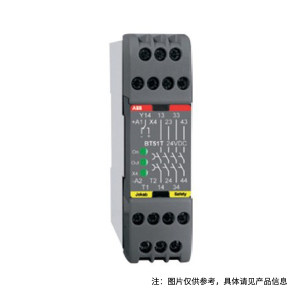 ABB 安全继电器 BT50, 24DC 1个