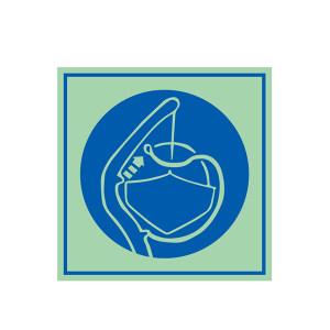 SAFEWARE/安赛瑞 船用IMO安全标志(释放艇稳索) 21028 150*150mm 1张