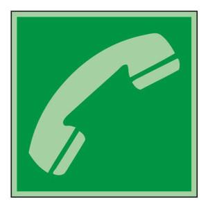 SAFEWARE/安赛瑞 船用IMO安全标志(电话) 20276 150*150mm 1张