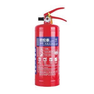 OLT/欧伦泰 手提式干粉灭火器(碳钢瓶体) MFZ/ABC3 灭火剂重3kg 1个