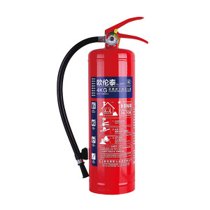 OLT/欧伦泰 手提式干粉灭火器(碳钢瓶体) MFZ/ABC4-1 灭火剂重4kg 1个